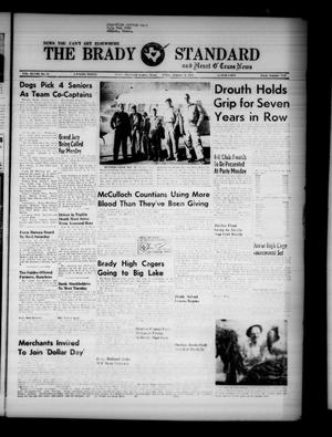 Primary view of object titled 'The Brady Standard and Heart O' Texas News (Brady, Tex.), Vol. 48, No. 15, Ed. 1 Friday, January 4, 1957'.