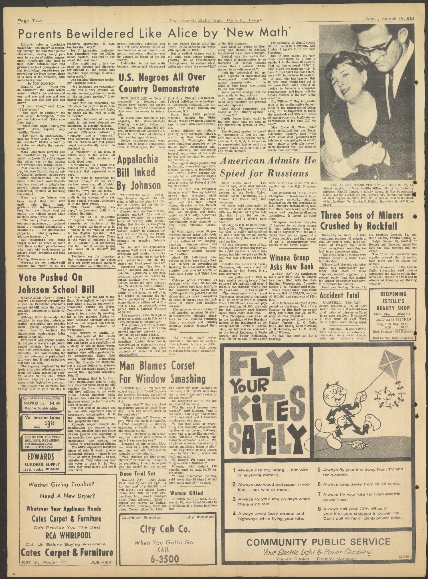 The Kermit Daily Sun (Kermit, Tex ), Vol  2, No  90, Ed  1