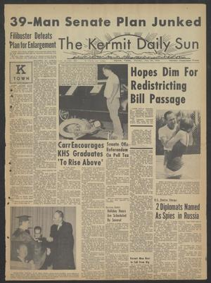 Primary view of object titled 'The Kermit Daily Sun (Kermit, Tex.), Vol. 2, No. 159, Ed. 1 Sunday, May 30, 1965'.