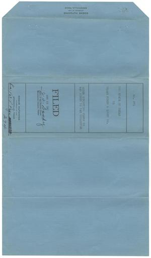 Document pertaining to the case of The State of Texas vs. Texas Power and Light Company, cause no. 371 [Part 3], 1947