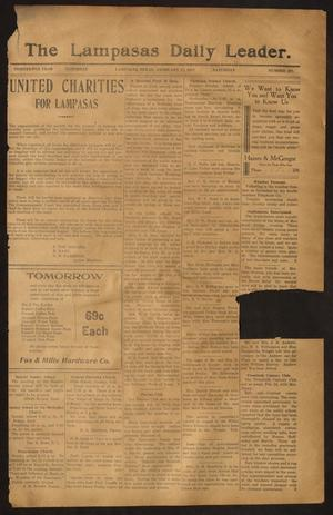 Primary view of object titled 'The Lampasas Daily Leader. (Lampasas, Tex.), Vol. 13, No. 297, Ed. 1 Saturday, February 17, 1917'.