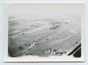 Primary view of object titled '[Aerial View of the Countryside]'.