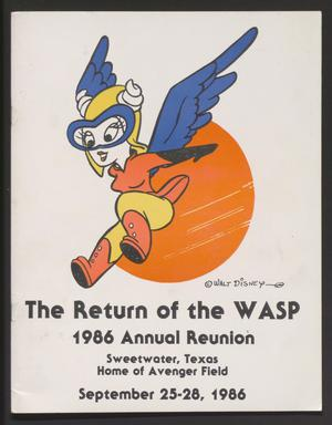Primary view of object titled 'The Return of the WASP'.