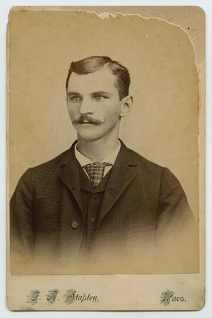 Primary view of object titled '[Photograph of John Philip Hessdoerfer]'.