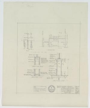 Sandefer Building, Abilene, Texas: Elevation & Plan Details