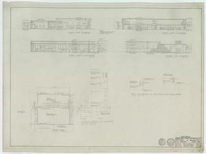 High School Cafeteria Abilene, Texas: Roof Plan & Building Elevation Directions