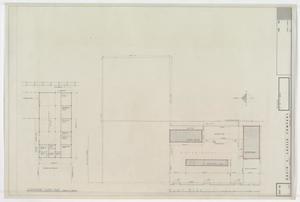 School District Warehouse, Abilene, Texas: Floor & Plot Plans