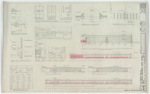 Elementary School Building, Abilene, Texas: Building Elevations & Cabinets