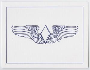 [WASP Diamond Wings Card]