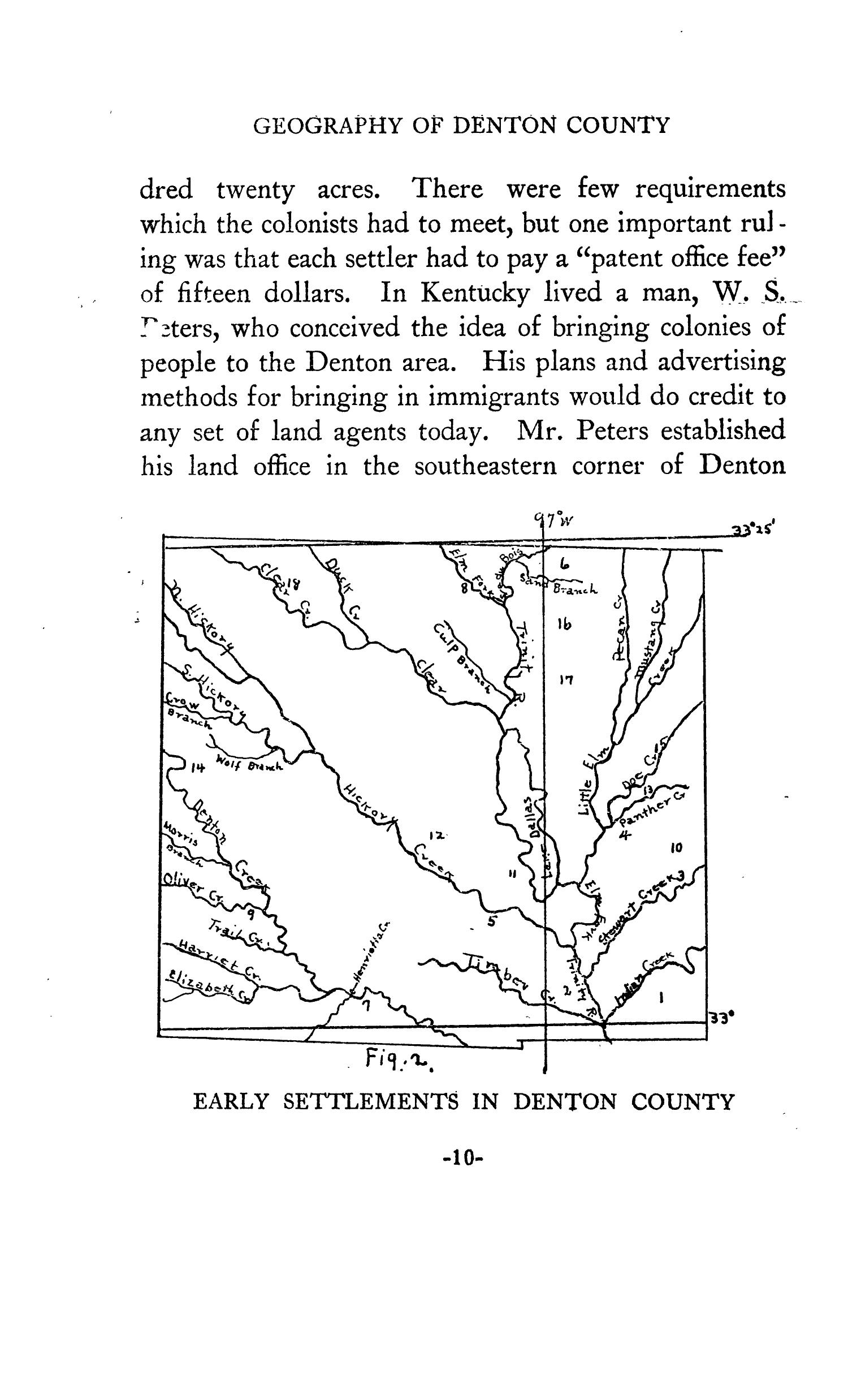 Geography of Denton County                                                                                                      10