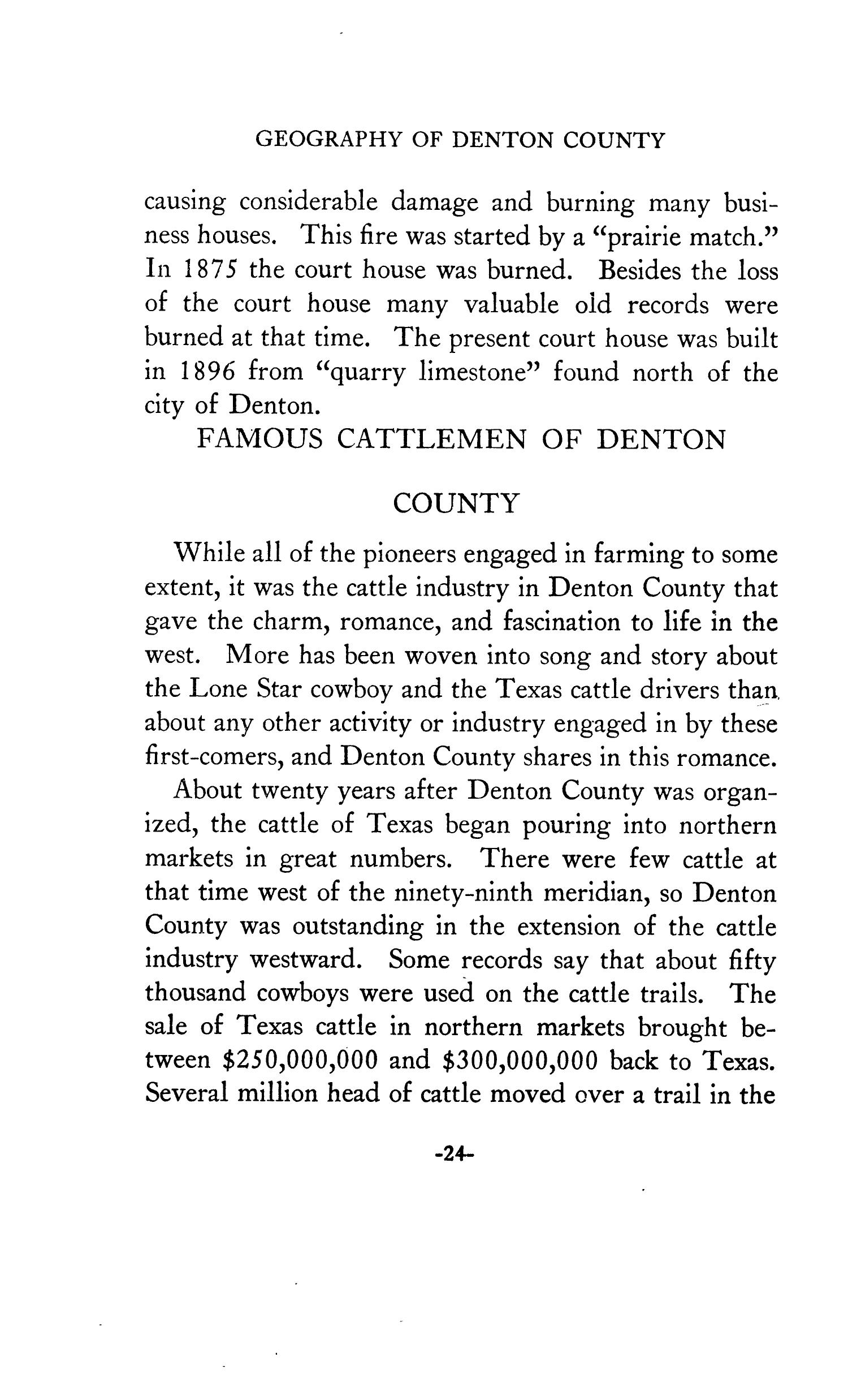 Geography of Denton County                                                                                                      24