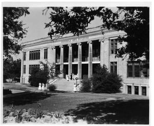 Primary view of object titled 'Texas Woman's University Household Arts Building, 1937'.