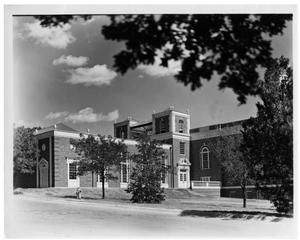 Primary view of object titled 'Texas Woman's University Science Building, 1937'.