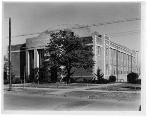 Primary view of object titled 'Texas Woman's University Student Union, 1937'.