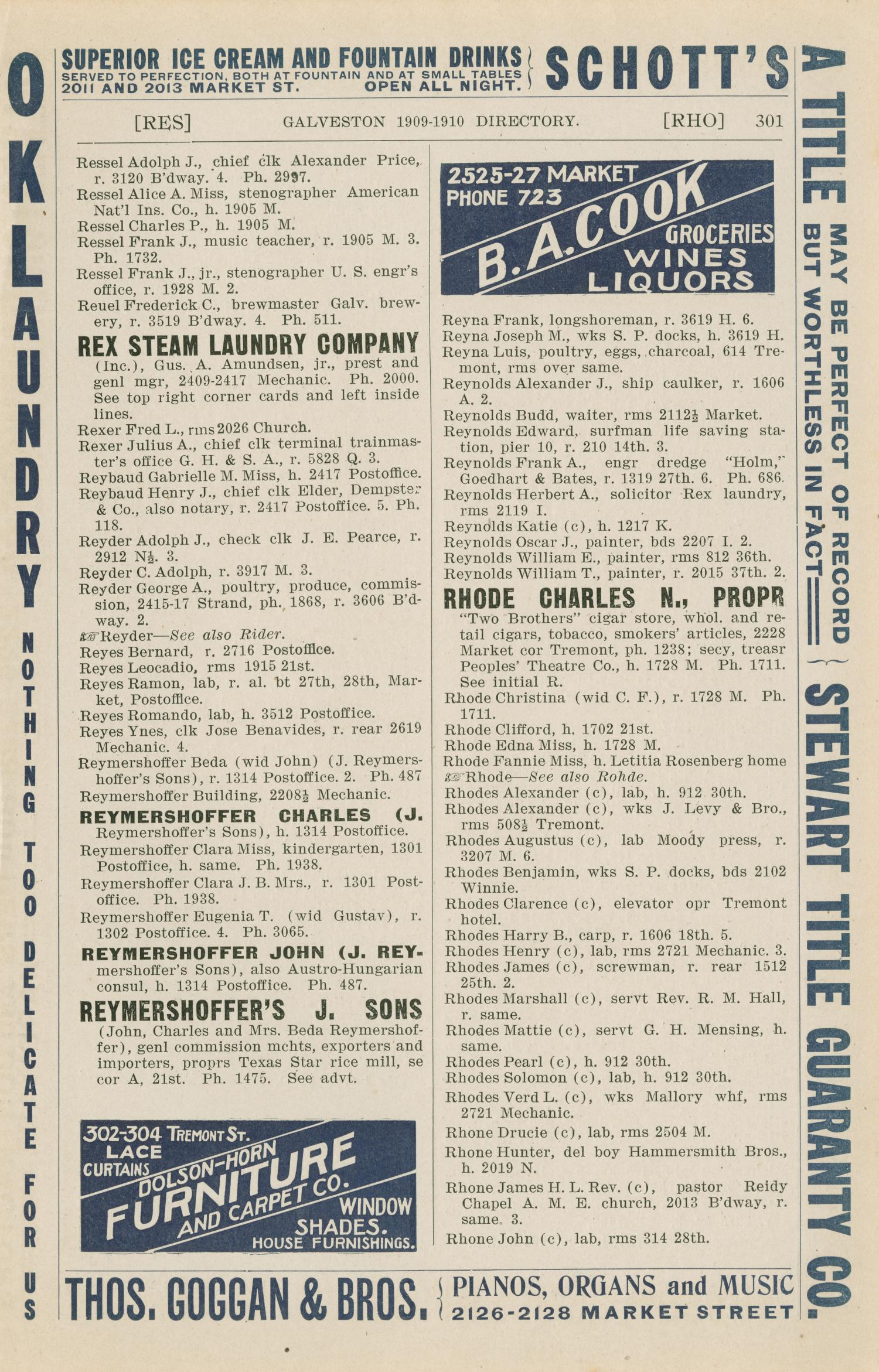 Morrison & Fourmy's General Directory of the City of