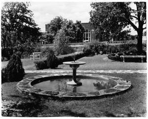 Texas Woman's University President's House Gardens, c. 1937