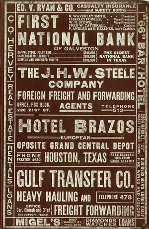 City Directories - The Portal to Texas History