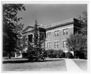 Texas Woman's University Lowry Hall, 1937