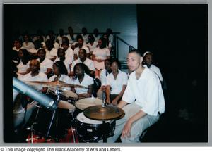 Primary view of object titled '[Christmas/Kwanzaa Concert Photograph UNTA_AR0797-136-08-08]'.