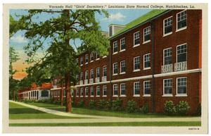 Primary view of object titled 'Post Card of Northwestern State College'.