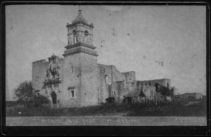 "Primary view of object titled '[The ""Mission San Jose"" in San Antonio, Texas]'."