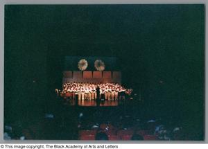 Primary view of object titled '[Christmas/Kwanzaa Concert Photograph UNTA_AR0797-136-08-24]'.