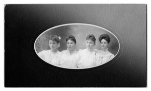 Primary view of object titled 'Young Ladies in White'.