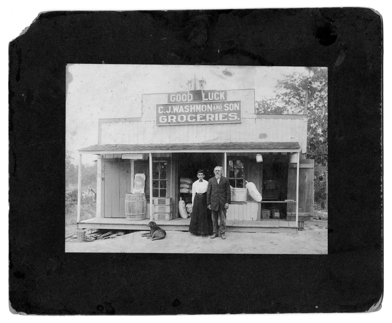 C. J. Washmon and Son Grocery Store                                                                                                      [Sequence #]: 1 of 2