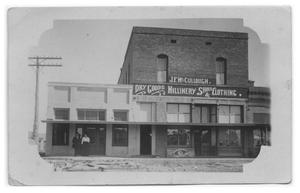 Primary view of object titled 'J.F. McCullough Store'.