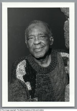 Black and white close up photgraph of Eugene Dorsey.