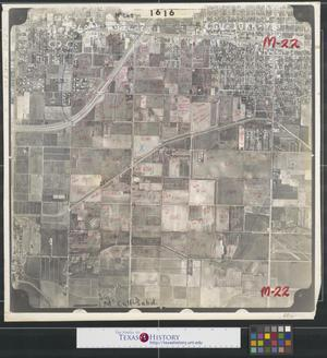 Primary view of object titled '[Aerial Photograph of Southeast McAllen and Pharr]'.