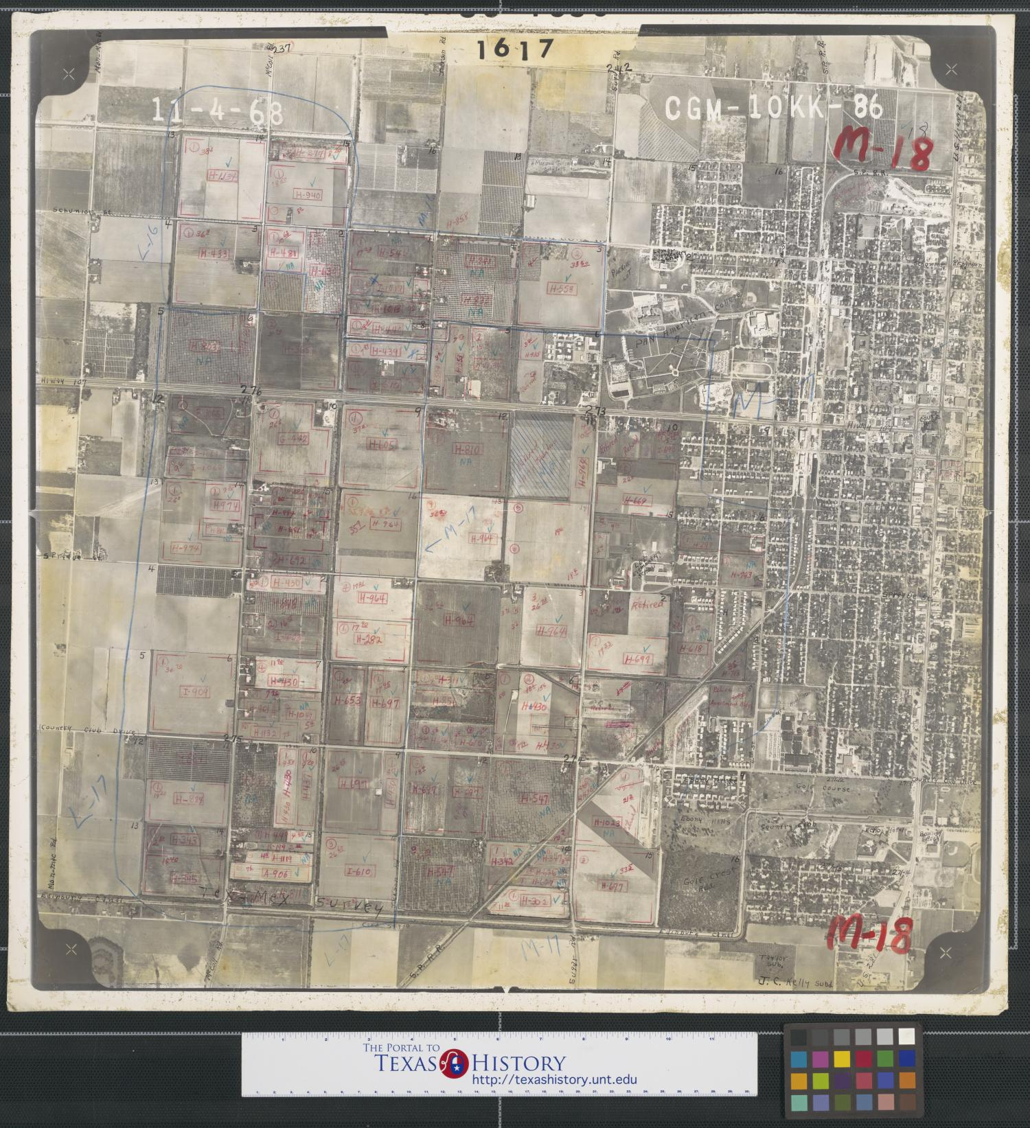 [Aerial Photograph of West Edinburg and Pan American College]                                                                                                      [Sequence #]: 1 of 2