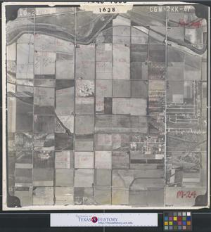 Primary view of object titled '[Aerial Photograph of East McAllen and South Pharr]'.
