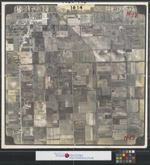Primary view of object titled '[Aerial Photograph of North Pharr between US 281 and San Juan Road]'.