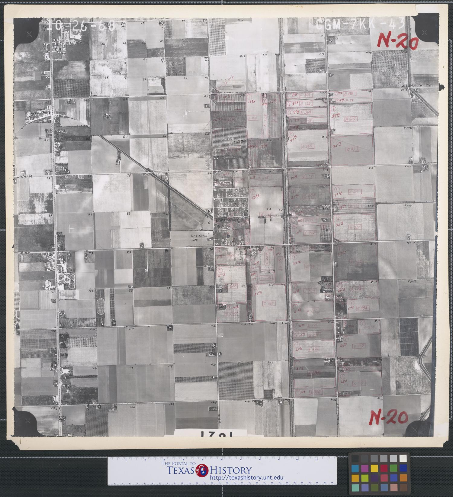 [Aerial Photograph of North Pharr and Southeast Edinburg]                                                                                                      [Sequence #]: 1 of 2