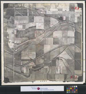 Primary view of object titled '[Aerial Photograph of South Pharr and South San Juan]'.