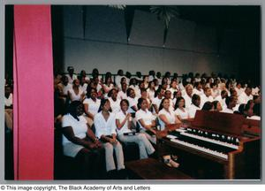 Primary view of object titled '[Christmas/Kwanzaa Concert Photograph UNTA_AR0797-136-08-07]'.