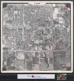 Primary view of object titled '[Aerial Photograph of Downtown McAllen]'.