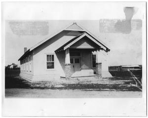 Primary view of object titled '[Haslet Baptist Church]'.