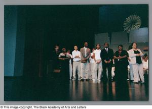 Primary view of object titled '[Christmas/Kwanzaa Concert Photograph UNTA_AR0797-136-08-17]'.