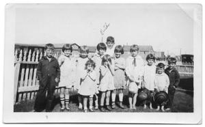 Primary view of object titled '[Unidentified group of children]'.
