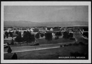 "Primary view of object titled '[""Boulder City, Nevada""]'."