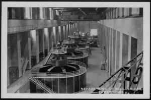 "Primary view of object titled '[""Nevada Wing Of Boulder Dam PowerHouse""]'."