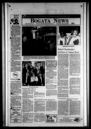 Primary view of object titled 'Bogata News (Bogata, Tex.), Vol. 89, No. 34, Ed. 1 Thursday, January 6, 2000'.