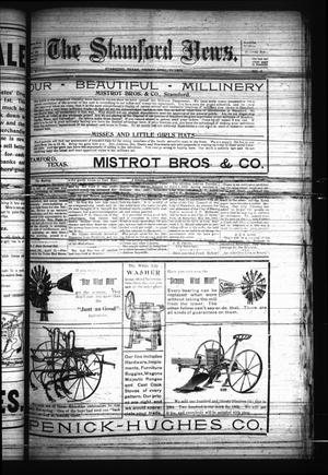 Primary view of object titled 'The Stamford News. (Stamford, Tex.), Vol. 6, No. 8, Ed. 1 Friday, April 21, 1905'.