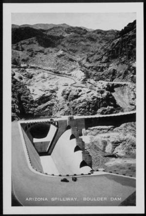 "Primary view of object titled '[""Arizona Spillway, Boulder Dam""]'."