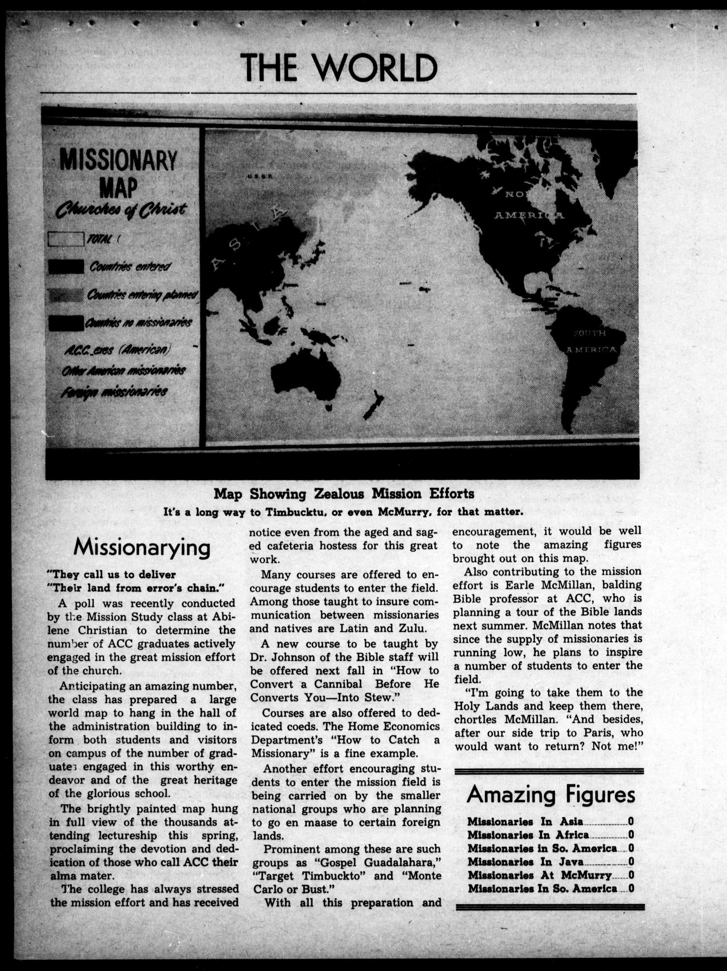 The Optimist (Abilene, Tex.), Ed. 1, Wednesday, April 1, 1964                                                                                                      [Sequence #]: 7 of 16
