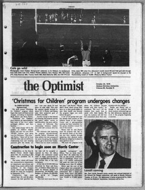 Primary view of object titled 'The Optimist (Abilene, Tex.), Vol. 64, No. 8, Ed. 1, Friday, October 22, 1976'.