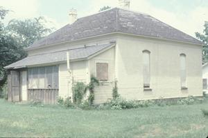 Primary view of [Vernacular House, (view facing NW at south & east (rear) elevations)]