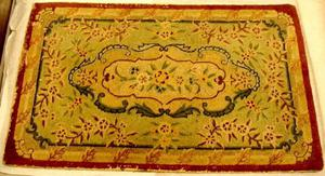 Primary view of object titled '[Rectangular shape rug]'.